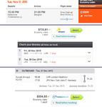 Round the World Flights (~$1600)