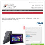 ASUS Transformer Book T100TAF 32GB + Office365 Personal Stock Clearance $350 (+ delivery) @ PCMarket.com.au