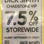 7.5% off Storewide @ Dick Smith & DSE at David Jones [Chadstone VIC - VIP Shopping Event]
