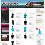 Stingray Australia - 20-40% off Rashies & UV Protective Swimwear, Free Delivery on Orders Over $50