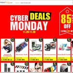 Cyber Monday Deals - up to 85% off + Further 5-12% off with code @ Newfrog