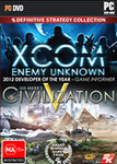 [PC] Xcom Enemy Unknown+Civilization V Double Pack - Physical Copy - $18 - EB Games