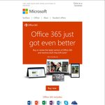 Microsoft Office 365 - Buy/Renew The Latest Version and Receive $25 Visa Gift Card