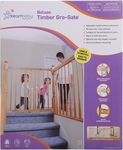 Dreambaby Nelson Timber Gro Gate $29.89 (was $43) @Bunnings Knoxfield VIC