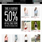 50% off All Already Discounted Sale Items Online @ Pavement