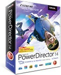 CyberLink PowerDirector 14 Ultimate  + Bundle + ColorDirector 4 Ultra $66.39 (Save $238.58)