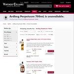 Ardbeg Perpetuum 700mL $128 At Vintage Cellars