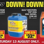 Castrol Edge 5W30- $36.99 + Valvoline 10W40 $16.99 @ REPCO Saturday 13th Only