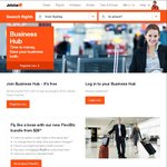 Free $100 Jetstar Travel Voucher for First 1,000 to Sign up to Jetstar Business Hub (ABN Required)
