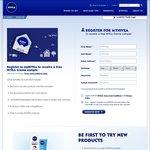 Free NIVEA Creme Sample by Registering to Mynivea. Ends October 6