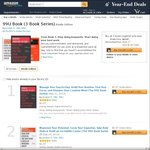 99U Books (3 Book Series) - $1.09USD Ea (Normally $5.99USD Ea) - Manage Your Day to Day, Maximise Your Potential, Make Your Mark