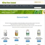 15% off Sitewide at Herbal New Zealand - 1 Day Sale Only