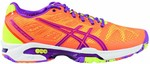 ASICS Women's Gel Solution SP2 Court Shoes in Bright Orange/Lavender $24 + $10 Shipping @ Harvey Norman