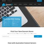 $1 .COM.AU Domain with Any Web / Email Hosting (Excludes Startup) @ DreamIT Host