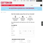 20% off at Cotton On