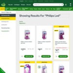 Woolworths - Selected Philips LED Light Bulbs up to 50% off