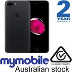 iPhone 7 Plus 128GB Black @ $1087 (AU Stock) Delivered @ MyMobile eBay