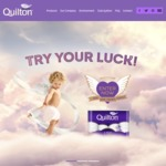 Win A Year's Supply (208 Rolls) of Quilton (Valued at $140)