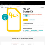 $30 SIM for $5 Free Express Delivery @ Optus
