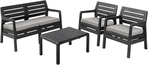 Keter 4 Piece Delano Lounge Setting $149 (was $499) at Bunnings