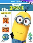 Minions Collection Blu-Ray (Minions, Despicable Me 1 & 2) £9.41 (AUD $16.84) Delivered @ Amazon UK