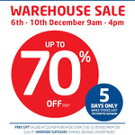 Samsonite Australia Warehouse Sale: up to 70% off- Suitcases from $35 - Free Gift Purchases over $100 [Springvale, VIC]