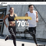 2XU up to 70% off All Outlet Items Boxing Day sale