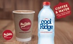 Mrs. Fields: $2.99 for Coffee or Any Hot Drink + 600ml Bottle of Cool Ridge Water - Valid at 42 Locations Nationwide @ Groupon