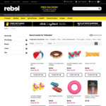 $1 Beach Balls, $2.50 Swim Rings, $5 Pool Toys, Float, $2.50 Kids' Inflatable Floaties (Free Click+Collect) @ Rebel Sport