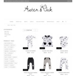 Aster & Oak Organic - up to 70% off Site Wide with Free Shipping over $100