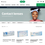 Specsavers April Offer: $10 off $99 | All Contact Lens Brands | Free Standard Delivery