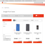 "Google Pixel Silicone Case 5""/XL $9 (RRP $55) | Otterbox Defender For Google Pixel Black $18 (RRP $70) Delivered @ Telstra"