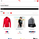 PUMA Click Frenzy Sale - up to 70% off - 24 Hours