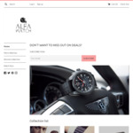 20% Off Everything + Free Shipping World Wide @ Alfa Watch Shop