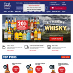 Collect 1,000 BONUS POINTS When You Spend $100 at First Choice Liquor Online (Flybuys Members)