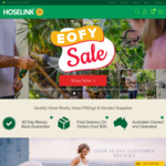 $17.50 off with No Minimum Spend: (e.g. Premium Ned Kelly Starter Kit $13 Delivered) @ Hoselink