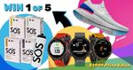 Win a Garmin Forerunner 235 GPS Watch Worth $469 or Nike Runners/SOS Prize Packs from SOS Hydration Australia
