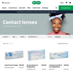 Specsavers: 10% off on Contact Lenses