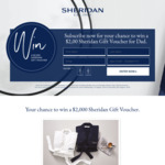 Win a $2,000 Voucher from Sheridan