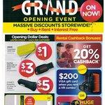 [SA] SanDisk 16GB USB Flash Drive $3, Laser 4400mAh Powerbank $1, Cygnett 2.4A Dual USB Car Charger $5 @ Radio Rentals, Marion