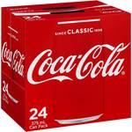 Coca-Cola 375ml 24 Pack Varieties $14.10 (QLD, VIC, TAS, WA), $15.40 (SA), $15.55 (NSW), $15.72 (ACT), $16.15 (NT) @ Woolworths