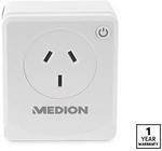 Medion Smart Wi-Fi Plug - Compatible with Alexa & Google Home $19.99 @ ALDI