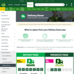Woolworths Free Unlimited Deliveries on Orders of $100 or More
