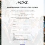 Win a Summer Wardrobe & Beach Bag for 3 from Riders by Lee