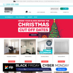 Black Friday / Cyber Monday Sale - up to 30% off on Blinds, Curtains, Awnings @ Blinds City