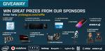 Win 1 of 35 Prizes (MSI Leopard Pro Laptop/ MSI GeForce GTX 1080 ARMOR/ Intel i7 CPU/ Logitech G Peripherals/ etc) from ESL