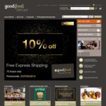10% off Good Food Restaurant Gift Card (Minimum $50 Purchase) + Free Shipping @ Good Food Gift Card