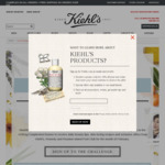 Receive 5 Free Kiehls Samples - Sign up and Present Barcode at Any Kiehl's Counter or Store