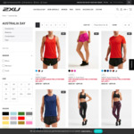 Further 20% off Selected Styles @ 2XU Outlet