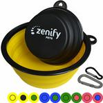 30% off Zenify Pets Portable Dog Bowls $4.87 + Delivery (Free with Prime / $49 Spend) @ Zenify Amazon AU